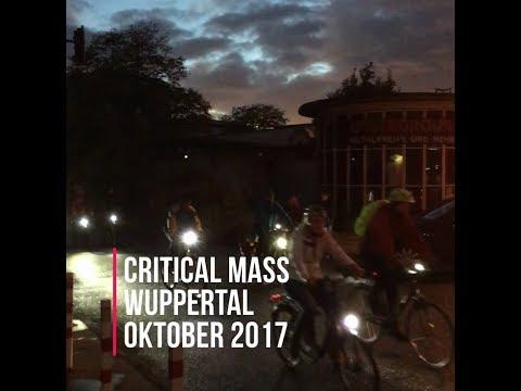 Critical Mass Wuppertal - Oktober 2017