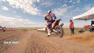 Silk Way Rally : l'accident impressionnant de Barreda