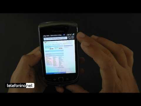 Blackberry 9800 torch videoreview da Telefonino.net