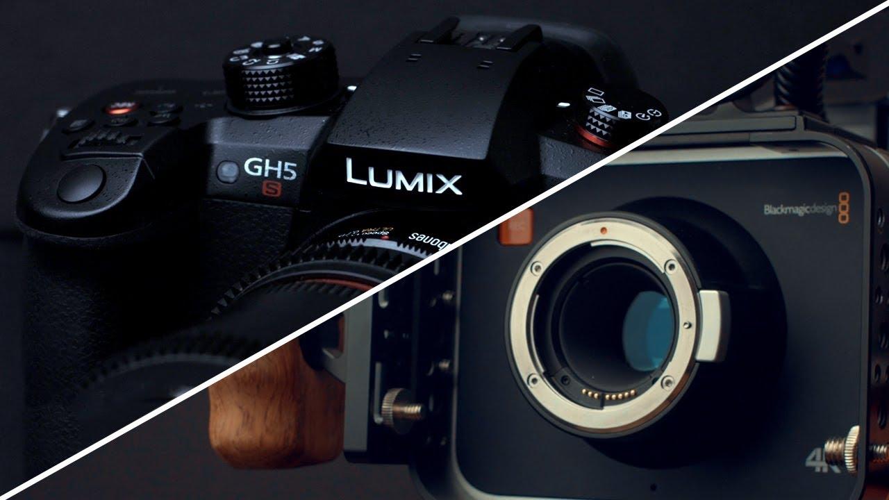 Panasonic Gh5s Vs Blackmagic 4k Youtube