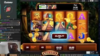 HUGE WIN on Montezuma Slot - £6 Bet!