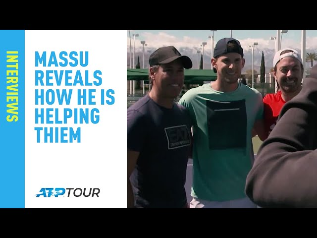 Massu Reveals Why He Is Helping Thiem At Indian Wells 2019