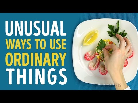 Unusual but awsome ideas for ordinary house items l 5 for 5 minute crafts videos