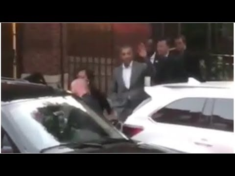 THE CROWD OUTSIDE OBAMA'S HOUSE LAST NIGHT WAS CAUGHT SCREAMING THE WORST THING IMAGINABLE!