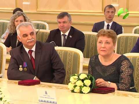 Торжественная церемония вручения государственных и региональных наград, приуроченная ко Дню России.
