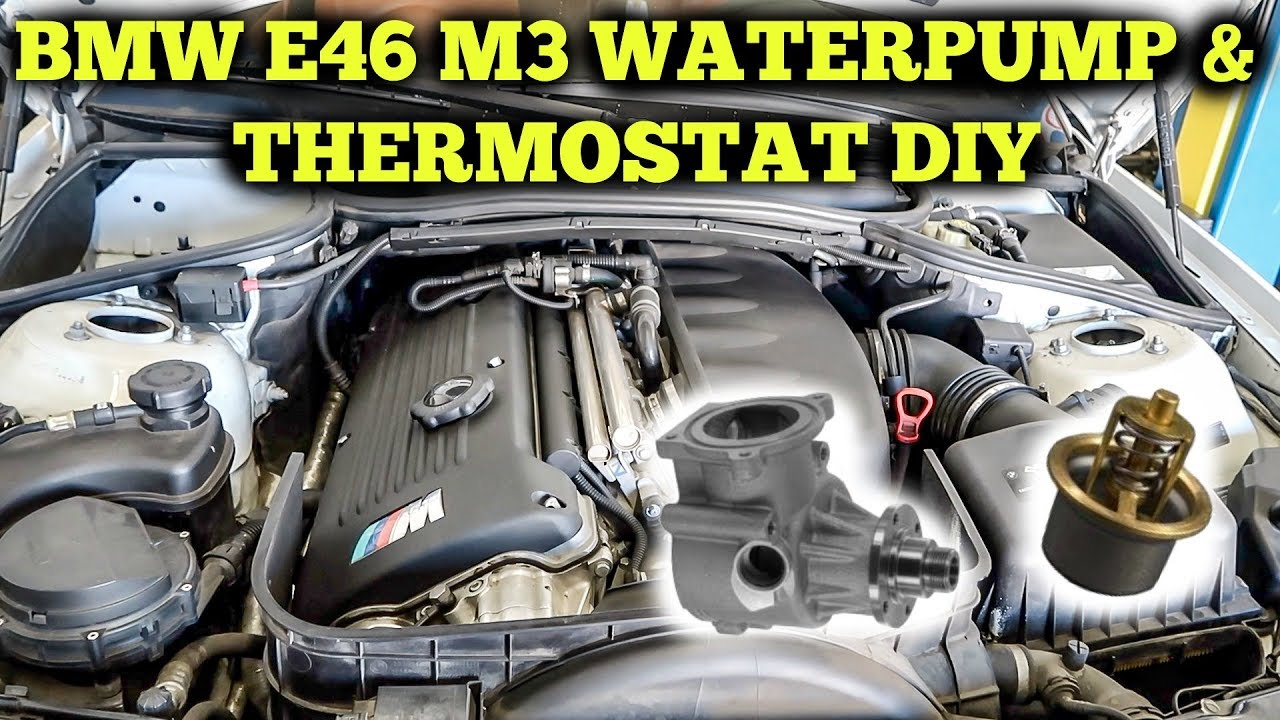 e46 water pump replacement