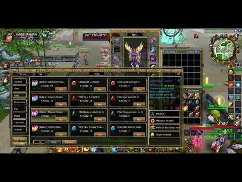 Talisman Online: +15 Wizard (Purple Cloud)