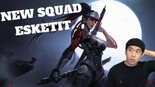 NEW SQUAD ESKETIT - Overwatch (PC) Live Stream and More