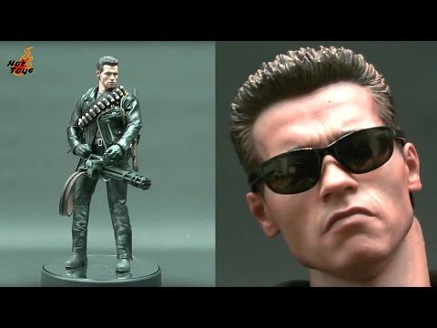 Hot Toys Terminator 2 T-800 DX10 Action Figure Review