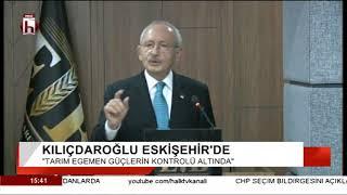 CHP Genel Başkanı Kemal Kılıçdaroğlu Eskişehir'de konuştu