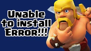 Unable too Update Clash of Clans? | Clash of Clans INDIA HINDI