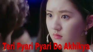 Teri Pyari Pyari Do Akhikya  | Sad Song | Korean mix|Full HD
