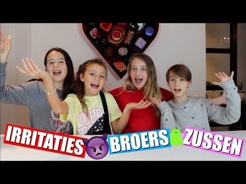 IRRITATIES AAN BROERS EN ZUSSEN! | MET LUCA EN NOLA