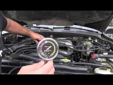 Toyota Engine Intake Manifold Vacuum Youtube
