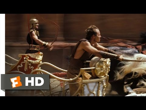 Ben-Hur (3/10) Movie CLIP - The Chariot Race (1959) HD streaming vf