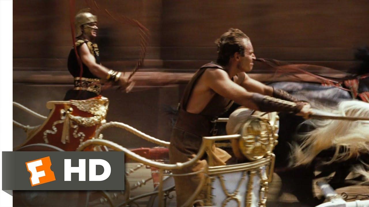 Ben-Hur (3/10) Movie CLIP - The Chariot Race (1959) HD