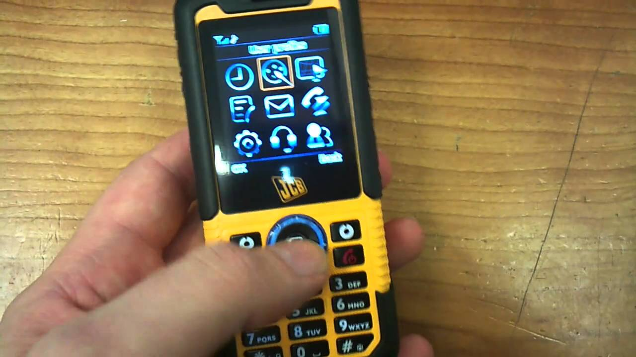 Jcb Toughphone Sitemaster You