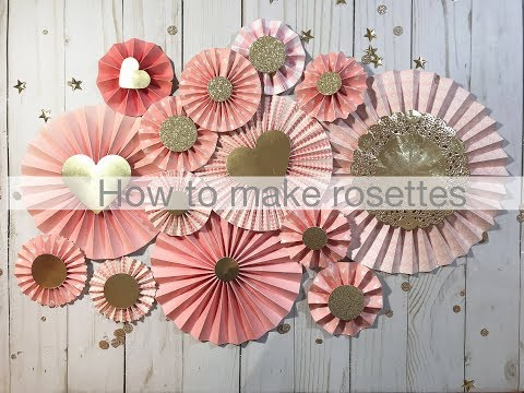 How to make Rosettes | Rosette Tutorial