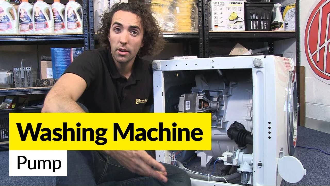 How to Diagnose Washing Machine Drain and Pump Problems  YouTube