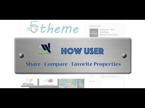 SHARE - COMPARE - FAVORITE PROPERTIES