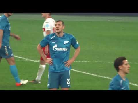 Зенит-Спартак  01.12.2019  Победа 1-0