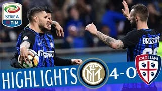 Inter - Cagliari 4-0- Highlights - Giornata 33 - Serie A TIM 2017/18