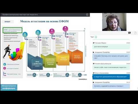Попова Е.Н. Аттестация педагогических работников в соответствии с новой моделью