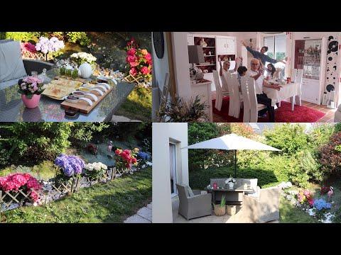 ✨اجتمعنا-و-عائلة-زوجي🌞كيف-غيرت-شكل-حديقة-البيت,أفكار-وحيل-منزلية-حماتي🌺مسمن-مورق(organisation-vlog).