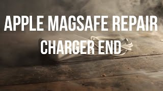 Apple Magsafe Repair - Charger End(Short tutorial on repairing the Apple Magsafe charger when the cord at the charger end frays or breaks completely. Music - Marlon Grunden ..., 2015-01-22T06:29:59.000Z)