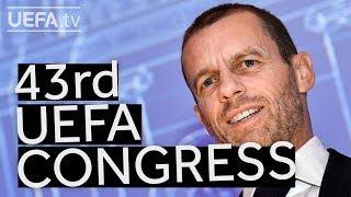 ALEKSANDER ČEFERIN re-elected UEFA President until 2023
