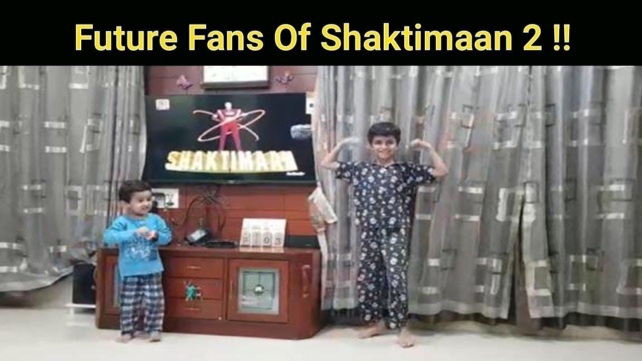 Aise Shuruat Hoti Hai Shaktimaan Ke Fan Banne Ki - 2 !!
