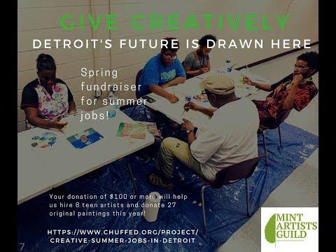 Mint Artists Guild Creative 2018 Summer Jobs Fundraiser