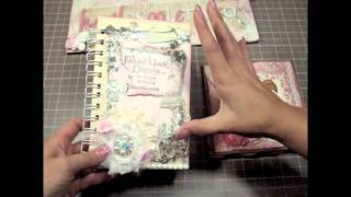 Quote Journal & Pink Card (The Making)