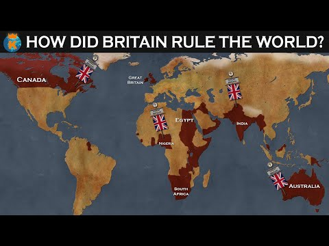 How did The British Empire rule the World?