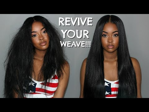 How To Bring Your Weave Back To LIFE!!! | Wash Day Routine ft. WEST KISS HAIR | BOMB AliExpress Hair