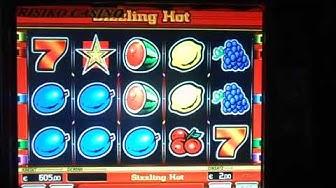 Sizzling Hot 2€ Einsatz, Löwen Star, Novoline, Casino