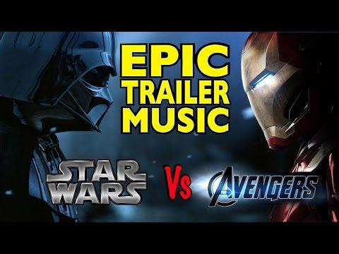 STAR WARS vs The Avengers (EPIC MashUp)