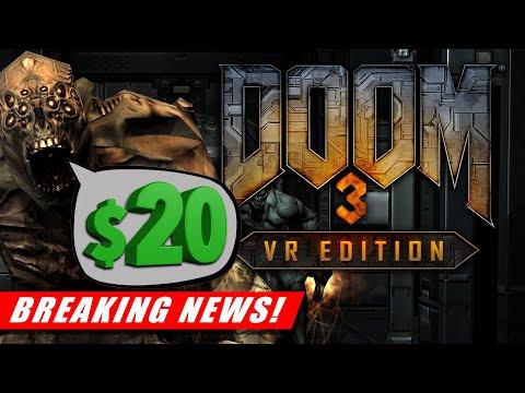 Updates on Doom 3 VR, Hellsplit: Arena, Swordsman Dismemberment | Floor Plan 2 Announced