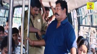 Mayilsamy Comedy in the Bus Latest Tamil cinema   SATHIRAM PERUNTHU NILAYAM   Tamil Film HD