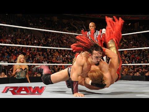 Neville Vs. Tyler Breeze: Raw – 14. Dezember 2015