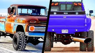 AMAZING and POWERFUL TRUCKS (Badass Diesel) | ROLLING COAL