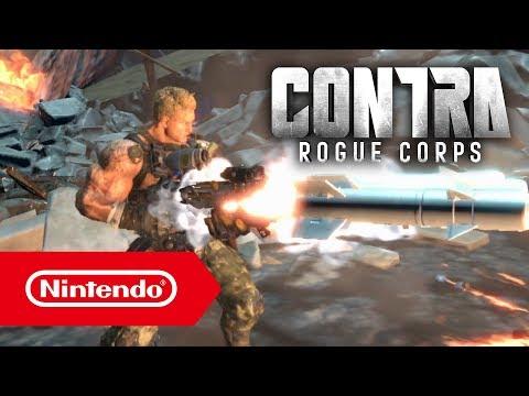 CONTRA ROGUE CORPS - Bande-annonce de l'E3 2019