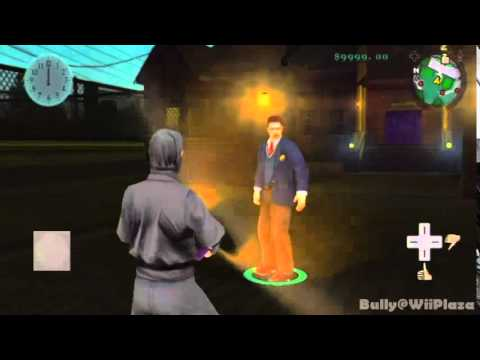 ~Bully Scholarship Edition Wii~ Secret Flashlight Weapon
