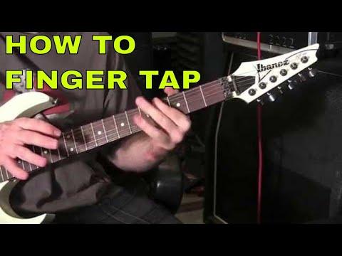 how to finger tap on guitar: beginner guitar lesson
