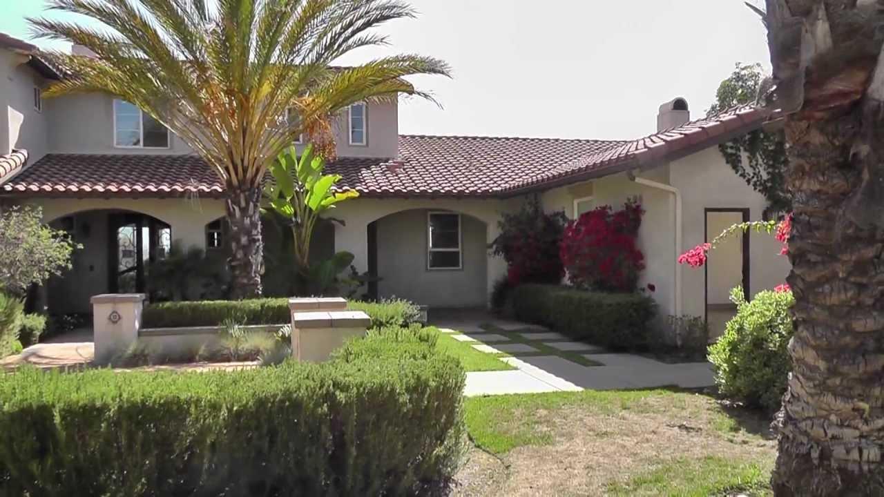 Custom home in bonsall california youtube for Southern california custom home builders