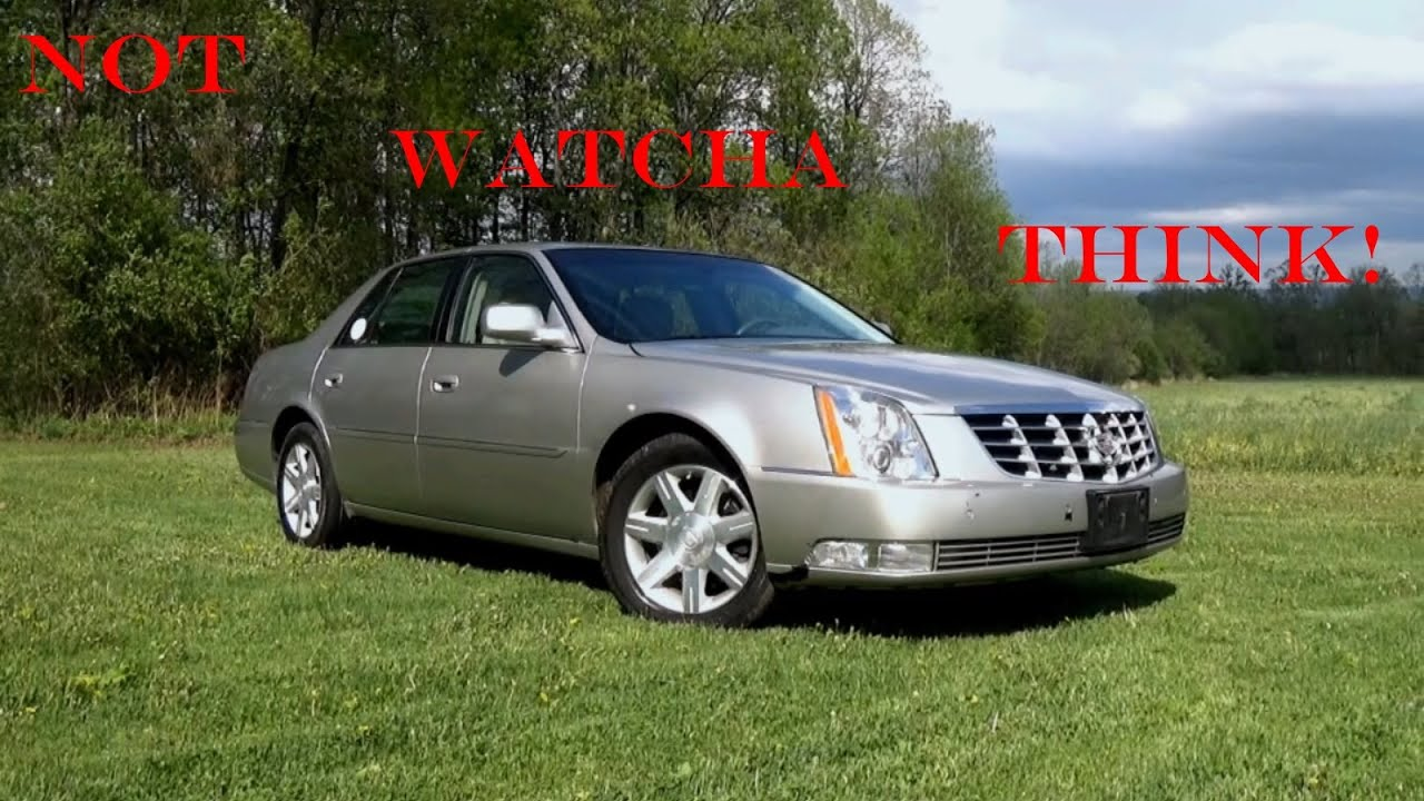 2006 Cadillac Dts Review Wolf In Sheep S Clothing Youtube