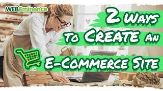 ZWEI Möglichkeiten zum Erstellen einer E-Commerce-Website - Dies sind die 2 E-commerce-Plattformen, die ich BENUTZE.