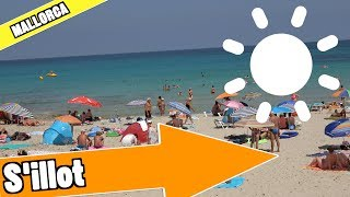 S'illot Majorca Spain: Tour of beach and resort