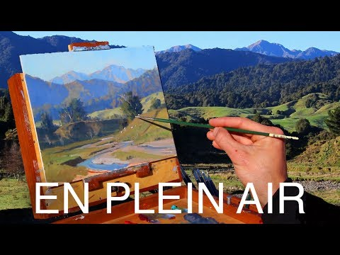 Painting En Plein Air - TOP TIPS for a successful scene!