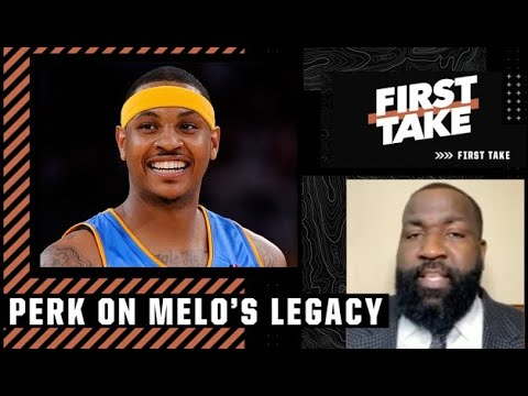Perk: Carmelo's legacy would have been a lot different if he was drafted by the Pistons | First Take